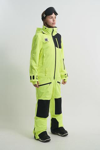 Cool Zone OVER комбинезон женский сноубордический салатовый