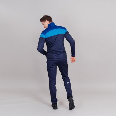 Детский разминочный лыжный костюм Nordski Jr Drive blueberry