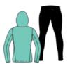 Nordski Run Premium костюм для бега женский Light Breeze-Black - 3