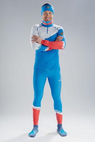 Nordski Jr Premium RUS детский гоночный комбинезон blue