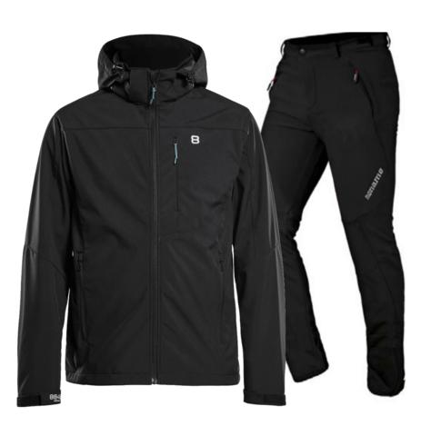 Noname 8848 Altitude мужской тренировочный лыжный костюм черный