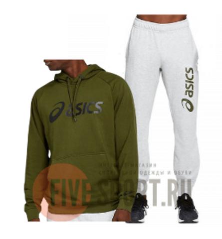 Asics Big Oth Logo спортивный костюм с капюшоном мужской хаки