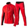 Victory Code Dynamic разминочный лыжный костюм red-red - 1