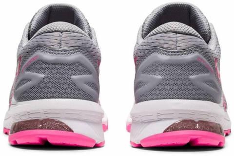 Asics Gt 1000 10 Gs кроссовки для бега подростковые серые-розовые