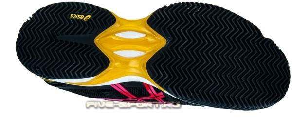 Кроссовки теннисные Asics Gel-Solution Speed 2 мужские черные