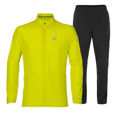 Костюм для бега мужской  Asics Woven yellow