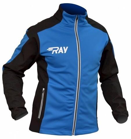 RAY Race WS лыжная куртка унисекс blue-black