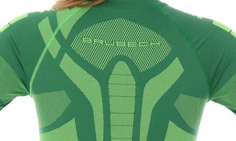 BRUBECK DRY женский комплект термобелья зелено-лимонный