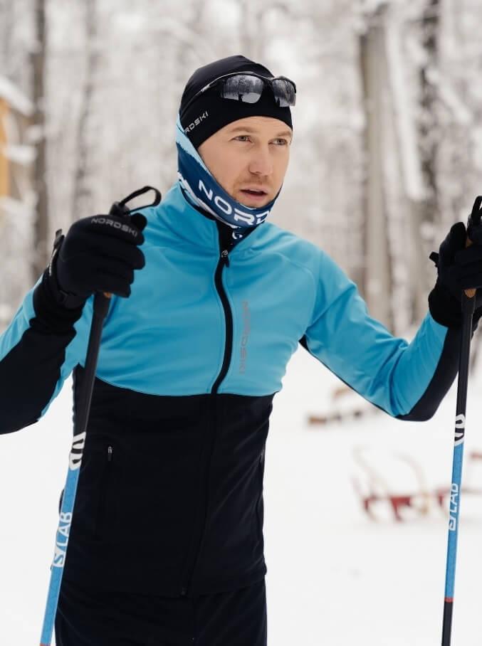 лыжный костюм мужской для беговых лыж спортмастер