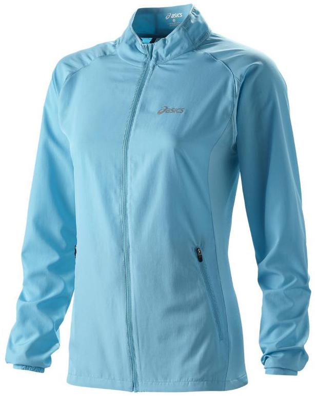 Ветровка женская Asics Woven Jacket blue - 3