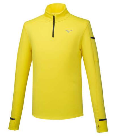 Mizuno Warmalite Hz футболка с длинным рукавом мужская желтая