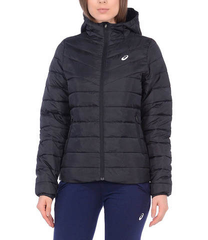Asics Padded Jacket утепленная куртка женская черная