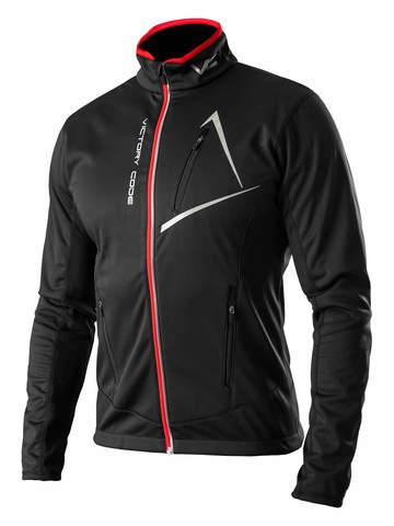 Victory Code Dynamic разминочная лыжная куртка черная