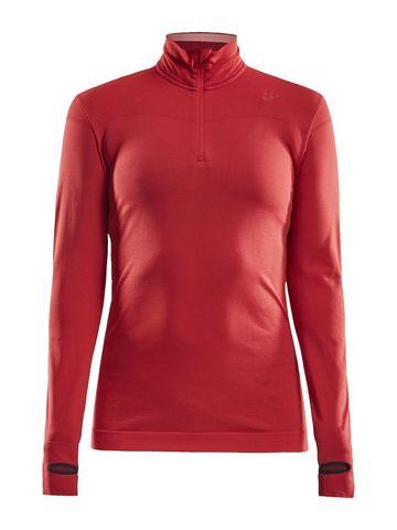 Craft Active Fuseknit Comfort терморубашка на молнии женская red