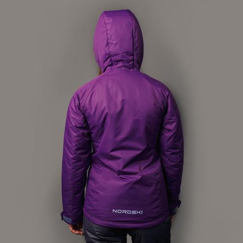 Nordski Motion утепленный лыжный костюм женский purple-black