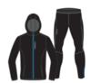 Nordski Run Premium костюм для бега мужской Black-Blue - 1
