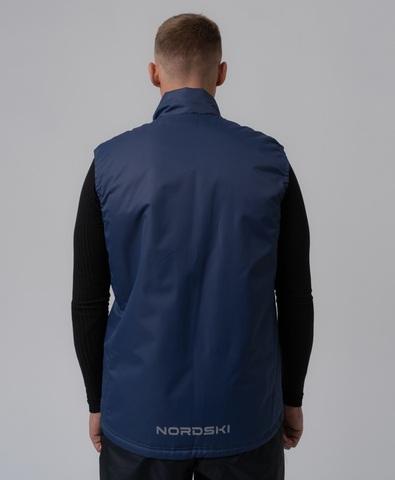 Nordski Motion утепленный жилет мужской темно-синий