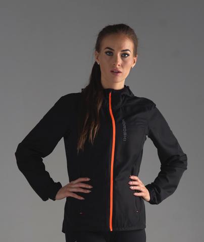 Nordski Run куртка для бега женская Black/Orange