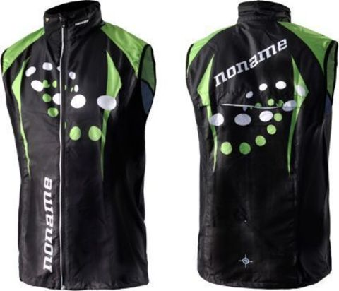 Noname Running Vest Plus ClubLine Unisex JR жилет детский черный
