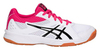 Asics Upcourt 3 женские волейбольные кроссовки белые - 1