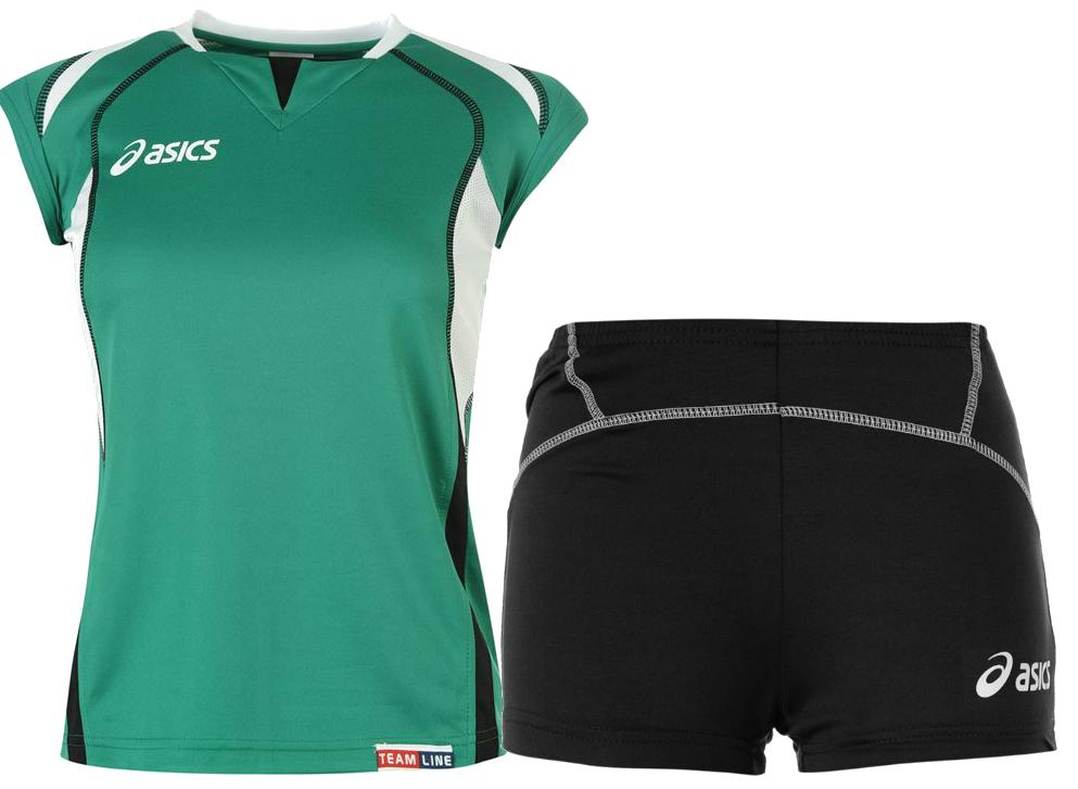Asics Set Olympic Lady форма волейбольная женская green
