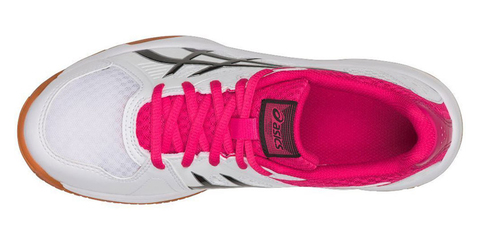 Asics Upcourt 3 женские волейбольные кроссовки белые