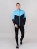 Nordski Sport Premium костюм для бега мужской light blue-black - 1