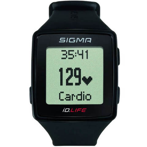 Sigma ID.Go Life пульсометр black