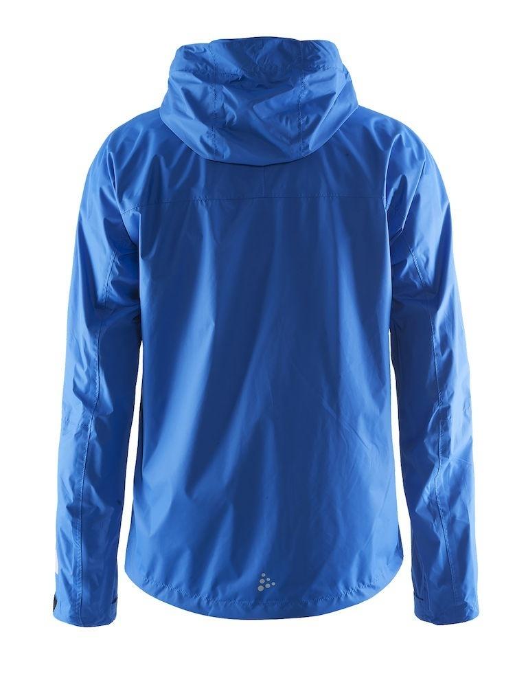 Ветрозащитная куртка-дождевик мужская Craft Aqua Rain синяя - 2