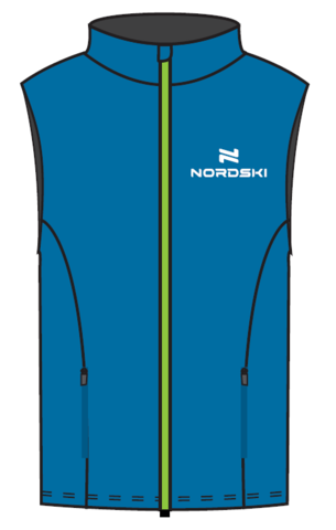 Nordski Motion утепленный жилет мужской Blue