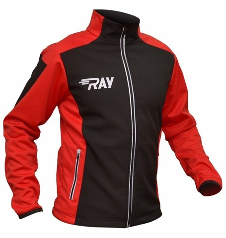 RAY Race WS лыжная куртка унисекс black-red