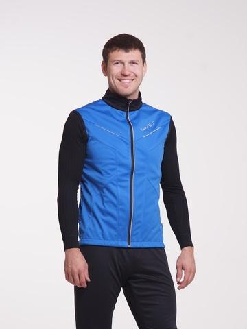 Nordski Premium детский лыжный жилет синий-черный