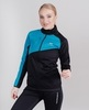 Nordski Premium разминочная куртка женская blue-black - 1