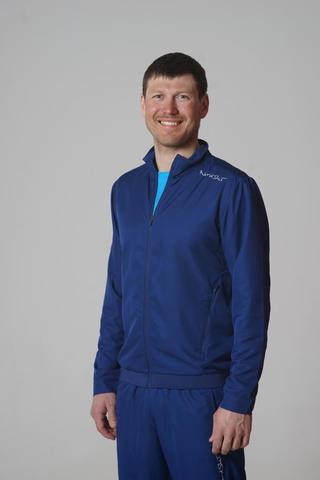Беговой костюм детский Nordski Jr Sport темно-синий