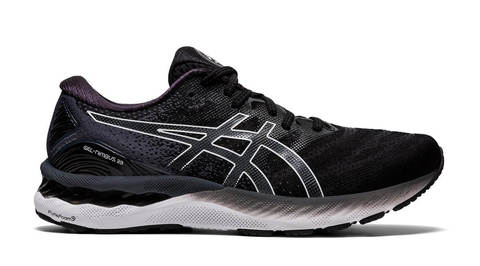 Asics Gel Nimbus 23 Wide 2E кроссовки для бега мужские черные (Распродажа)