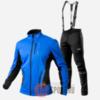 Victory Code Speed Up A2 разминочный лыжный костюм с лямками blue - 1