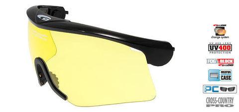 Goggle линза для oчков-маски Goggle Provo yellow