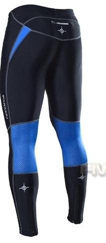 Лосины Noname Long o-tights 11 черно-син - 2