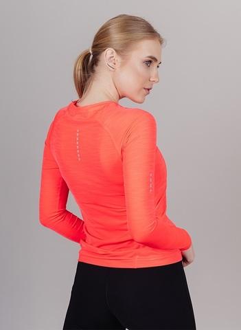 Nordski Pro футболка с длинным рукавом женская coral