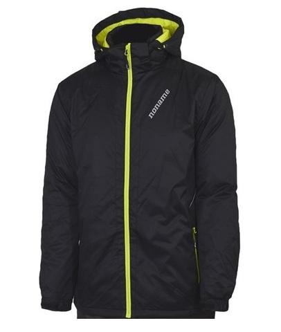 Noname Winter утепленная лыжная куртка черная унисекс