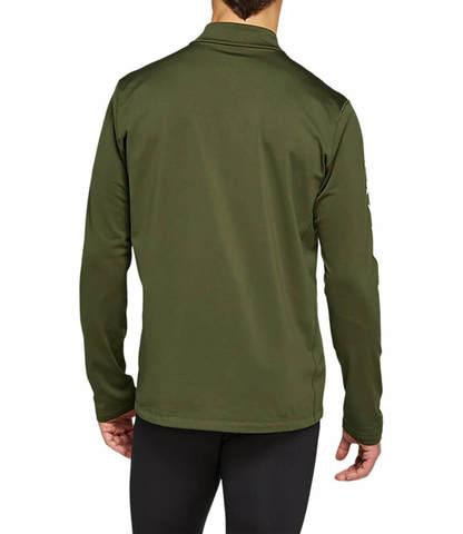 Asics Katakana Winter 1/2 Zip рубашка беговая мужская хаки