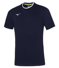 Mizuno Tee мужская беговая футболка темно-синяя
