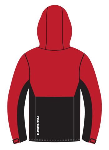 Nordski Montana утепленная куртка женская красная-черная