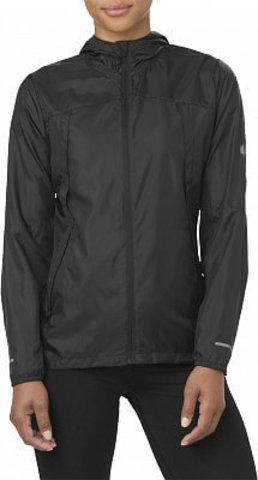 Куртка для бега женская Asics Packable черная