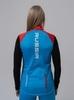 Nordski Premium лыжный жилет женский синий-красный - 2