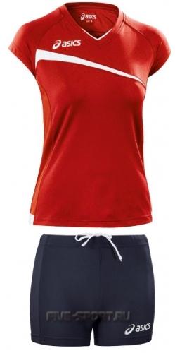 Asics Set Play Off форма волейбольная женская red