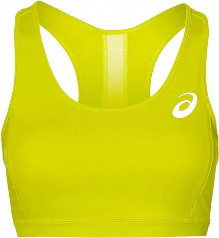 Топ для бега женский Asics Baselayer Med Support Bra желтый