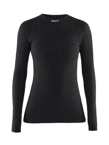 Термобелье рубашка Craft Warm Wool женская Black