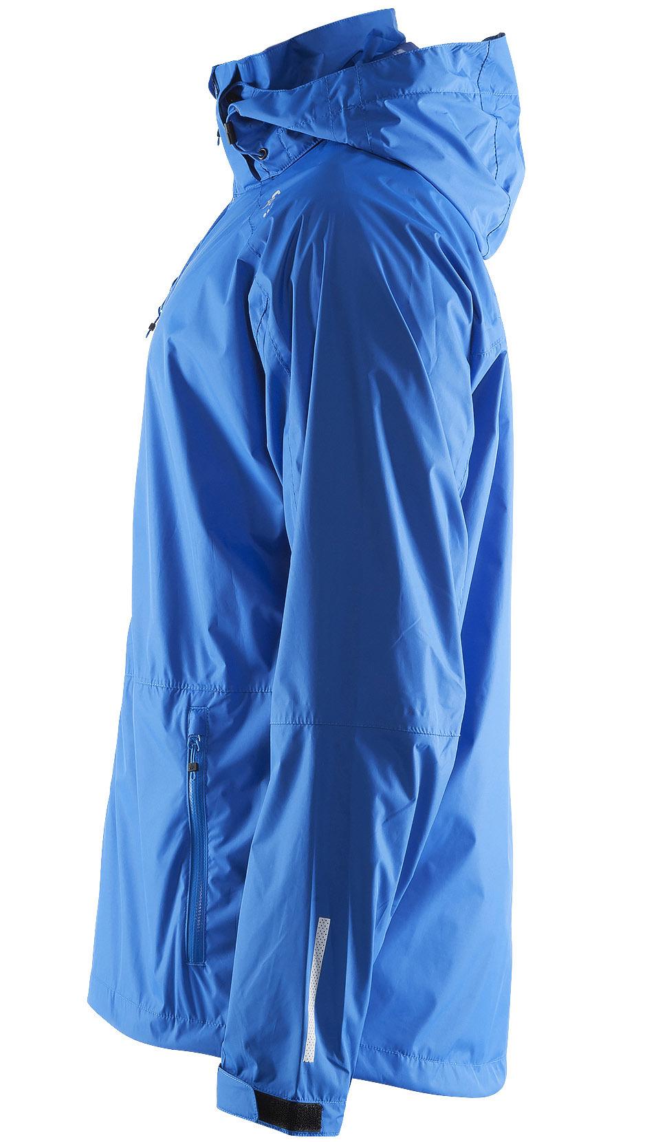 Ветрозащитная куртка-дождевик мужская Craft Aqua Rain синяя - 4