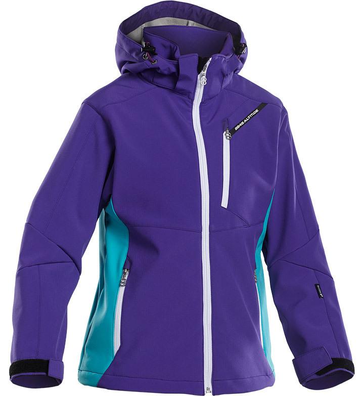 Детская Лыжная Куртка 8848 Altitude Apex JR Softshell Purple детская